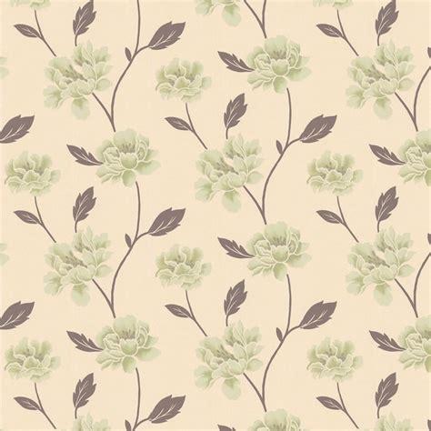 Wallpaper Green And Cream | peony green cream wallpaper green wallpaper wallpaper