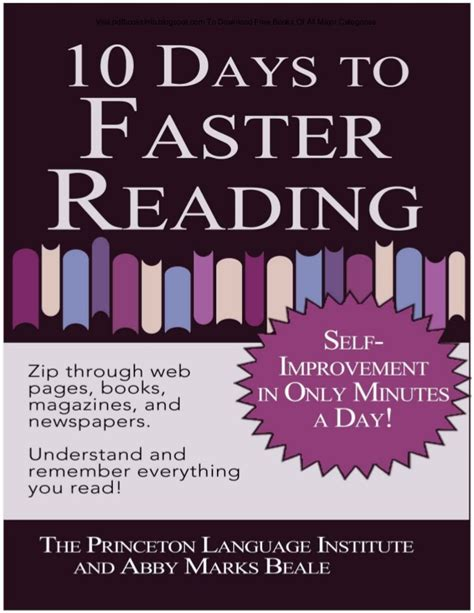 libro 10 days to faster pdfbooksinfo blogspot com 10 days to faster reading