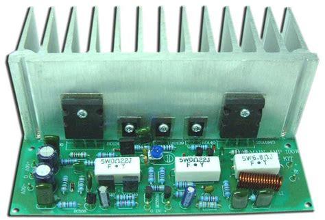 transistor lifier kit audio lifier kit enp shop
