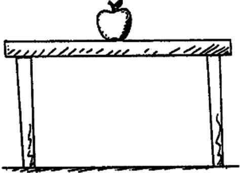 on table physicslab an apple on a table