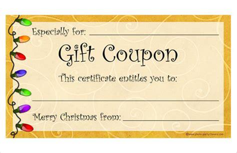 homemade coupon templates    format   premium templates