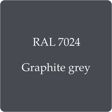 ral 7024 high quality german paint graphite grey 2l with free strainer ebay