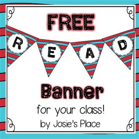 free printable reading banner pinterest the world s catalog of ideas