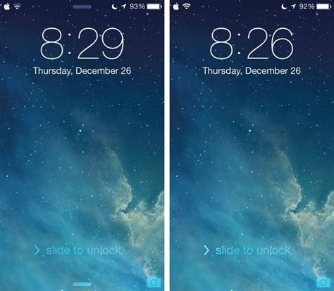 iphone lock screen remove quot slide to unlock quot text and grabbers from iphone lock screen with these new ios 7