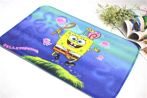 Karpet Spongebob mats anti slip floor mat spongebob