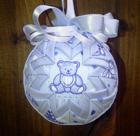 37 best images about quilted ornament baby on pinterest