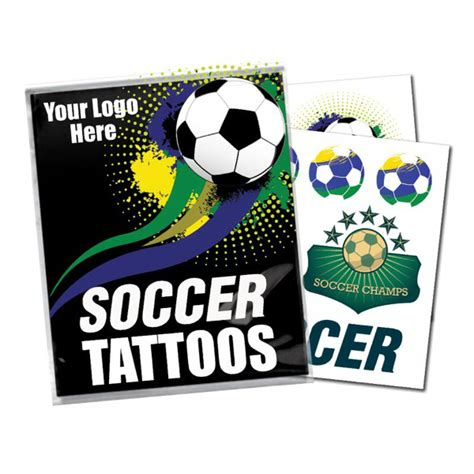 Sports Giveaways Coupon Code - custom sports giveaway set with tattoos usimprints