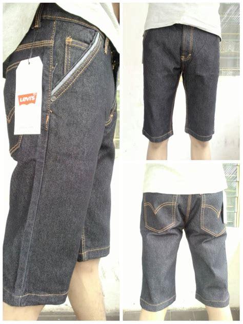 Celana Kulot Pendek Denim Buat Santai Fit To Xl celana pendek levis pria termurah rp 85 000 welcome di toko cendol