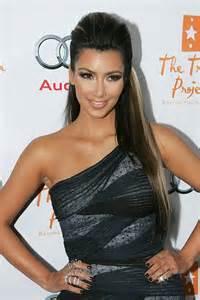 Kim Kardashian Half Up Half Down Hairstyles | 17 best images about half up half down hairstyles on