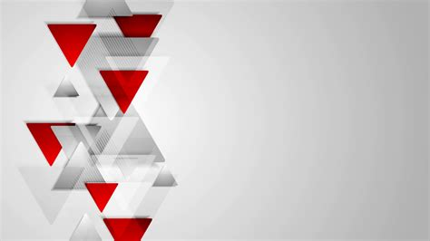 Redwhite The Jersey Grey abstract tech corporate grey background animation hd 1920x1080 motion background