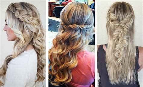 how do you do half up half down hairstyles 26 stunning half up half down hairstyles stayglam