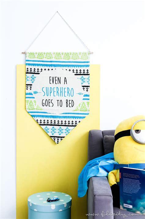 teppich kinderzimmer diy kinderzimmer deko selber machen diy wimpel aus teppich