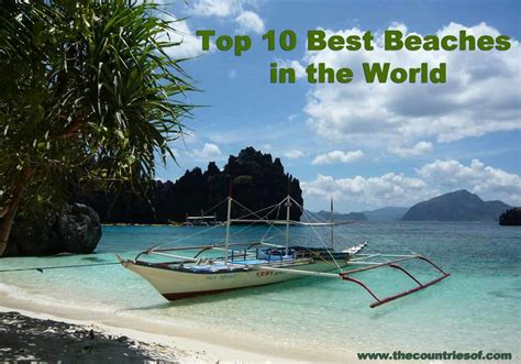 best beaches in the world 2016 list of top 10 best beaches in the world 2016 most