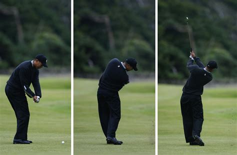 tiger woods swing swing sequence tiger woods then and now the masters