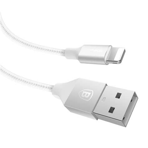 Lexcron Lightning Cable Led 1m Silver baseus yashine series kabel charger lightning 1 meter silver jakartanotebook