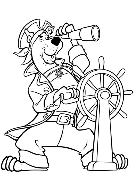 scooby doo coloring page free coloring pages of scooby doo