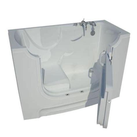 home depot walk in bathtub universal tubs 5 ft right drain walk in bathtub in white