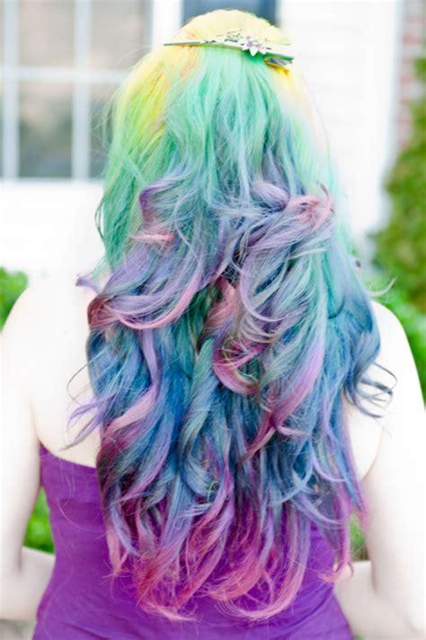rainbow color hair ideas i love pastel hair hair colors ideas