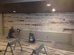 How To Make A Barn Door Headboard Barnwood Wall Completed Pins Pinterest Basement