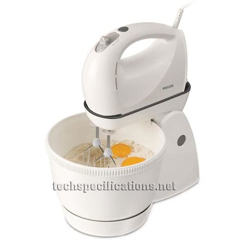 Mixer Philips Stand philips hr1565 40 stand mixer tech specs