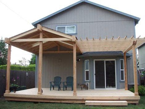 How To Build An Awning Over A Deck 25 Best Ideas About Small Covered Patio On Pinterest