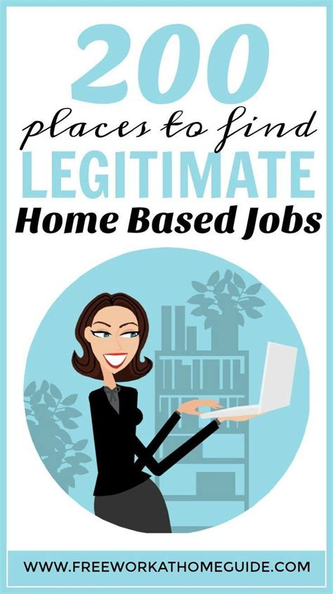200 companies offering legitimate work at home home