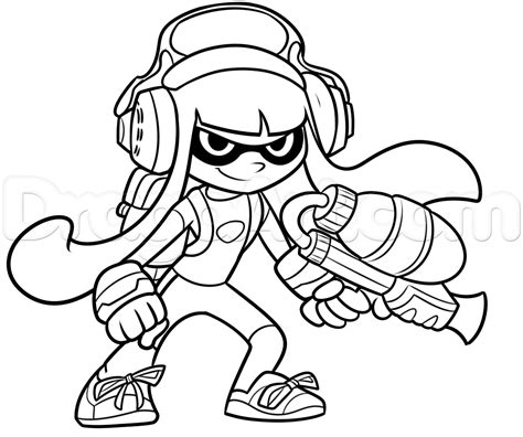 how to draw an inkling from splatoon step 10 1