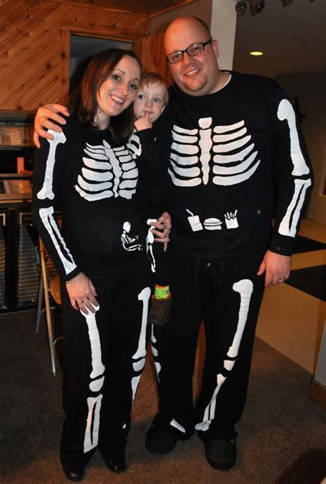 pregnant skeleton costume  halloween