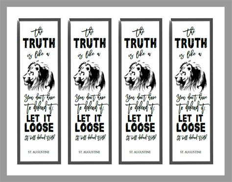 printable lion bookmarks christian study tools and art free bookmarks