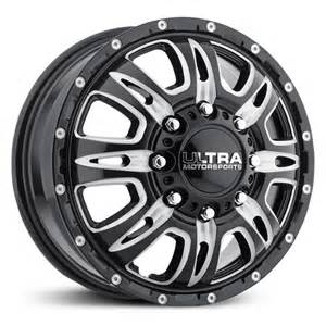 Ultra Dually Truck Wheels Ultra 049bm Predator Dually Wheels Rims