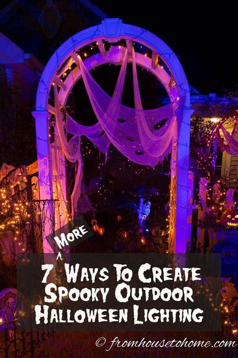 lighted outdoor halloween decorations 7 spectacular ways to create spooky halloween outdoor