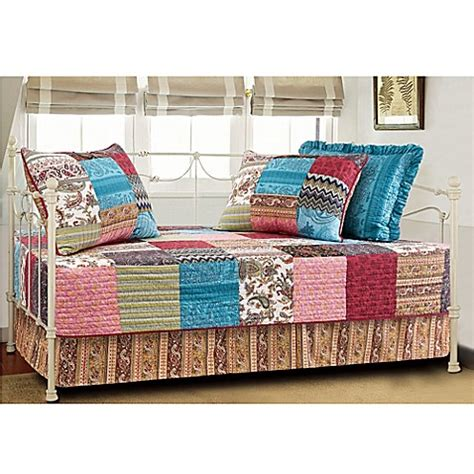 Bed Bath And Beyond Daybed Sets New Bohemian Quilted Reversible Daybed Bedding Set Bed Bath Beyond