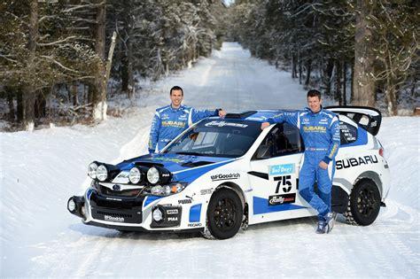 subaru rally rally usa subaru team ready for snowdrift rally