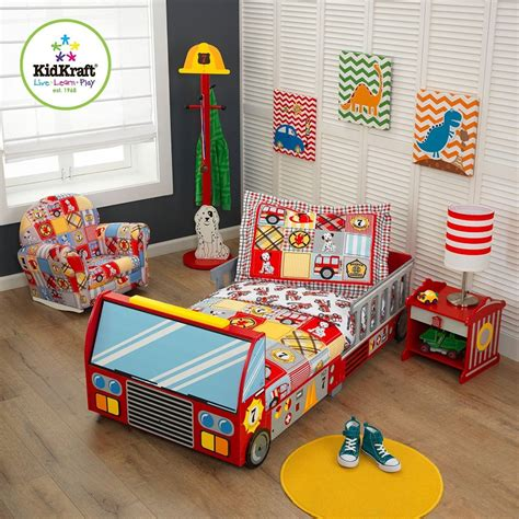 fire truck baby bedding fire truck toddler bed kidsdimension