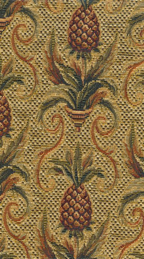 pineapple upholstery fabric pineapple tapestry fabric 1 yard