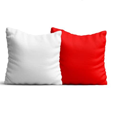 cuscino rosso cuscino con federa bicolore in poliestere 40 x 40 cm