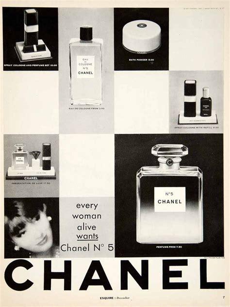 Parfum Wanita Chanel No 5 1961 ad vintage chanel no 5 perfume parfum eau de cologne
