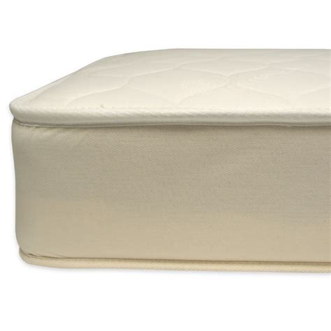 Naturepedic Organic Cotton Quilted Deluxe 2 In 1 Ultra Naturepedic Organic Crib Mattress