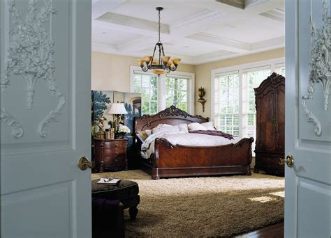 pulaski edwardian bedroom pulaski edwardian sleigh bed 242170 homelement com