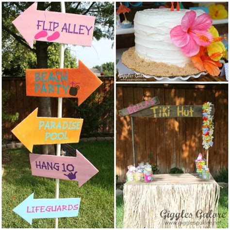luau backyard party ideas luau birthday party