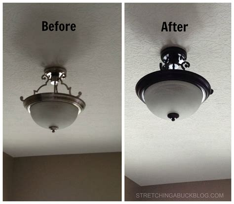 painting lighting fixtures spray painting lighting fixtures update your home with