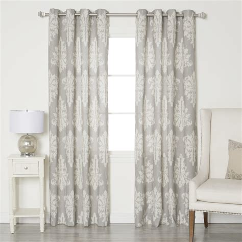 best drapes best home fashion inc linen blend grommet top curtain