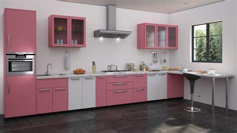 kitchen modular ideas white pink white colour modualr kitchen designs straight