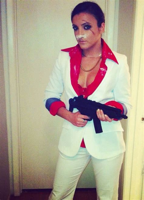 halloween  tony montana costume scarface costume