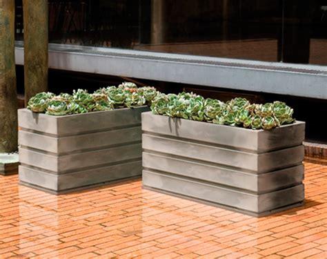 Ellis Planter by Crescent Garden Ellis Planters Rectangular Planter