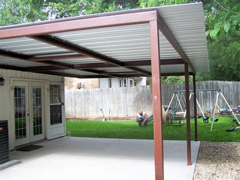 Lean To Patio Cover by Attached Lean To Patio Cover West San Antonio
