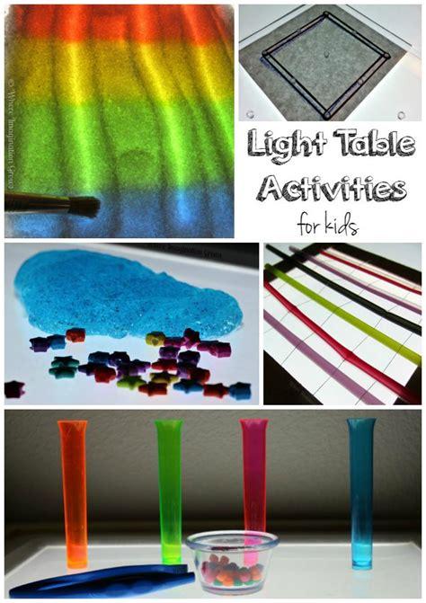 light play activities for light table black light