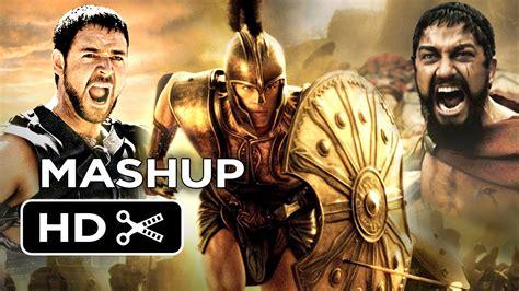 new film like gladiator clash of the 300 gladiators of troy movie mashup hd