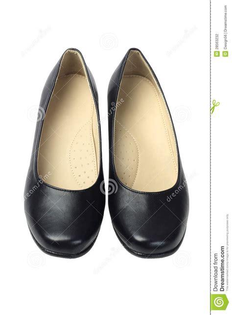 Shoe Unlimited Sr 5003 Black s black leather shoes stock photo image 28563232