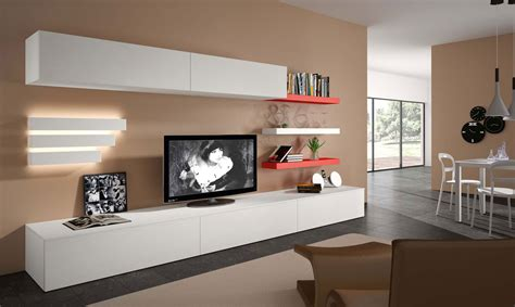 furniture natuzzi novecento wall units modern media contemporary tv wall unit open system jesse in